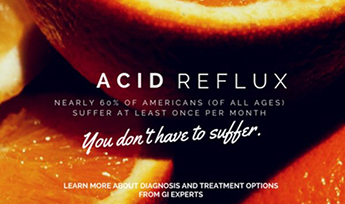 Acid reflux - you don't have to suffer