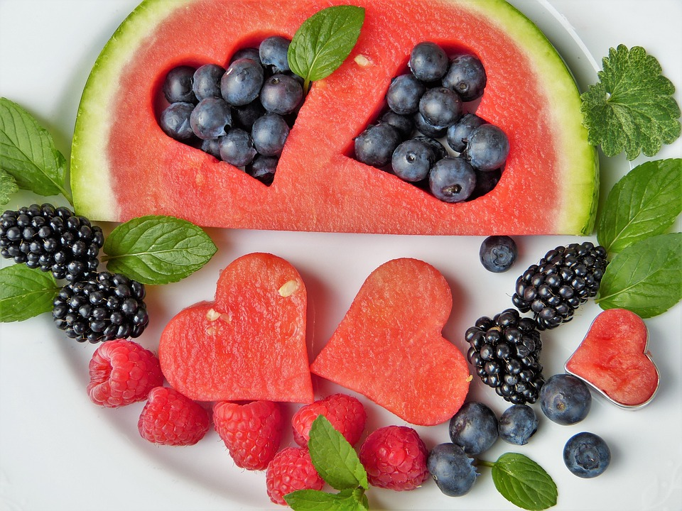 Fiber-rich fruits for digestive health